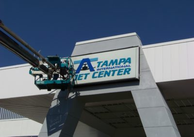 tampa-jet-center-wall-sign